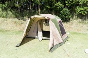 テント設営1